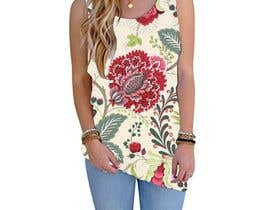 #99 для Design printed floral vest от josepave72