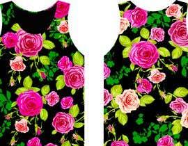 #1 для Design printed floral vest от GALGALOr
