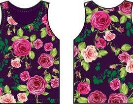 #128 для Design printed floral vest от GALGALOr
