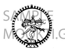 #8 para Draw a vector image of Nataraja (Dancing Shiva) in black and white por Rukina