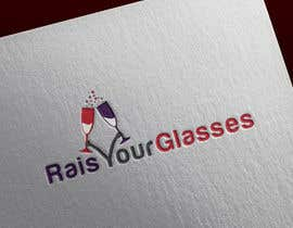 #12 for Design a Logo for Raise Your Glasses by Fittiani