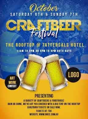 Konkurrenceindlæg #14 for Craftbeer and Food Truck Festival Artwork & Basic Company Logo