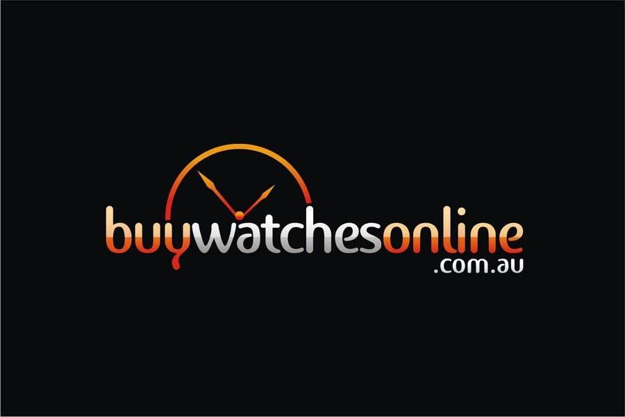 Penyertaan Peraduan #201 untuk Logo Design for www.BuyWatchesOnline.com.au