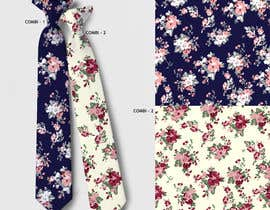 #21 for Need floral design to be printed on cotton fabric/neckties. af artkrishna