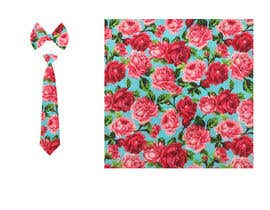 #34 for Need floral design to be printed on cotton fabric/neckties. af Nanthagopal007