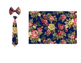 #38 for Need floral design to be printed on cotton fabric/neckties. af Nanthagopal007