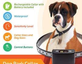 Nro 15 kilpailuun Infographic Images for a Dog Bark Collar on Amazon käyttäjältä fezibaba
