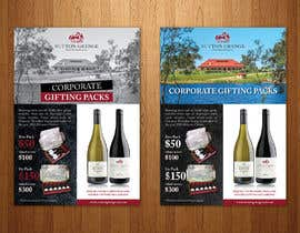 #58 for Design a Flyer for Corporate Wine Gift Packs by karimulgraphic