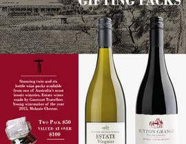 #36 for Design a Flyer for Corporate Wine Gift Packs by Omstart