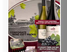 #66 for Design a Flyer for Corporate Wine Gift Packs by luisanacastro110