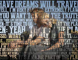 #86 for Art Picture Made Up Of Quotes by wahdinbarjib