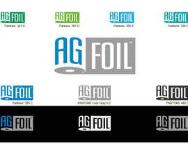 #106 para Logo Design for AG FOIL por krustyo