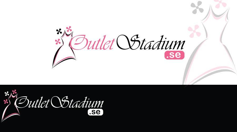 Proposition n°                                        83                                      du concours                                         Logo Design for OutletStadium.se