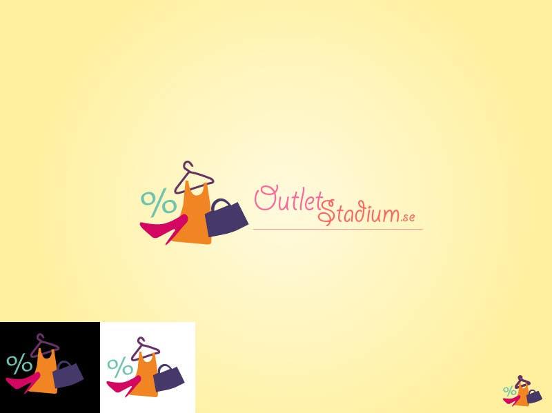 Inscrição nº 26 do Concurso para Logo Design for OutletStadium.se