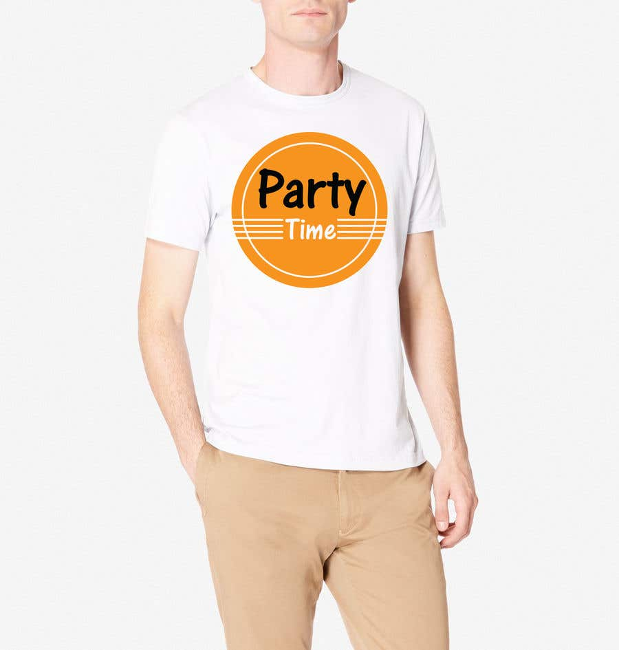 Contest Entry #68 for T-shirt Design   ( party time)
