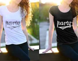Nro 39 kilpailuun T-shirt Design   ( party time) käyttäjältä mdnurhossain1070