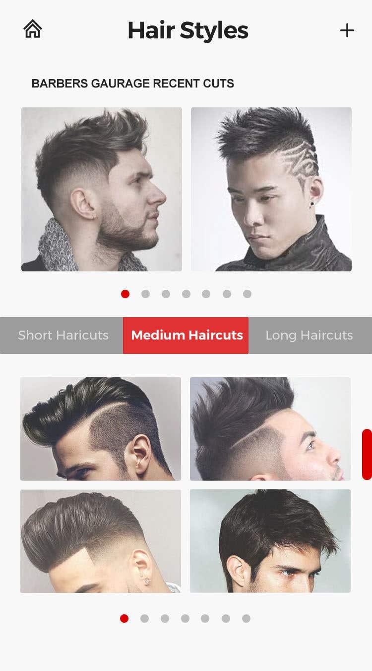 Entry 47 By Valrick For Design App Ui For Barber Shop App Logo