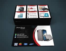 #82 untuk Need business cards template for mobile cell phone/computer repair/ pawn shop store oleh Ezabul