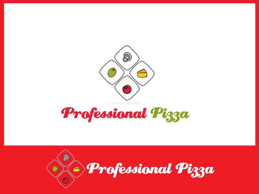 Inscrição nº                                         1                                      do Concurso para                                         Logo Design for Professional Pizza