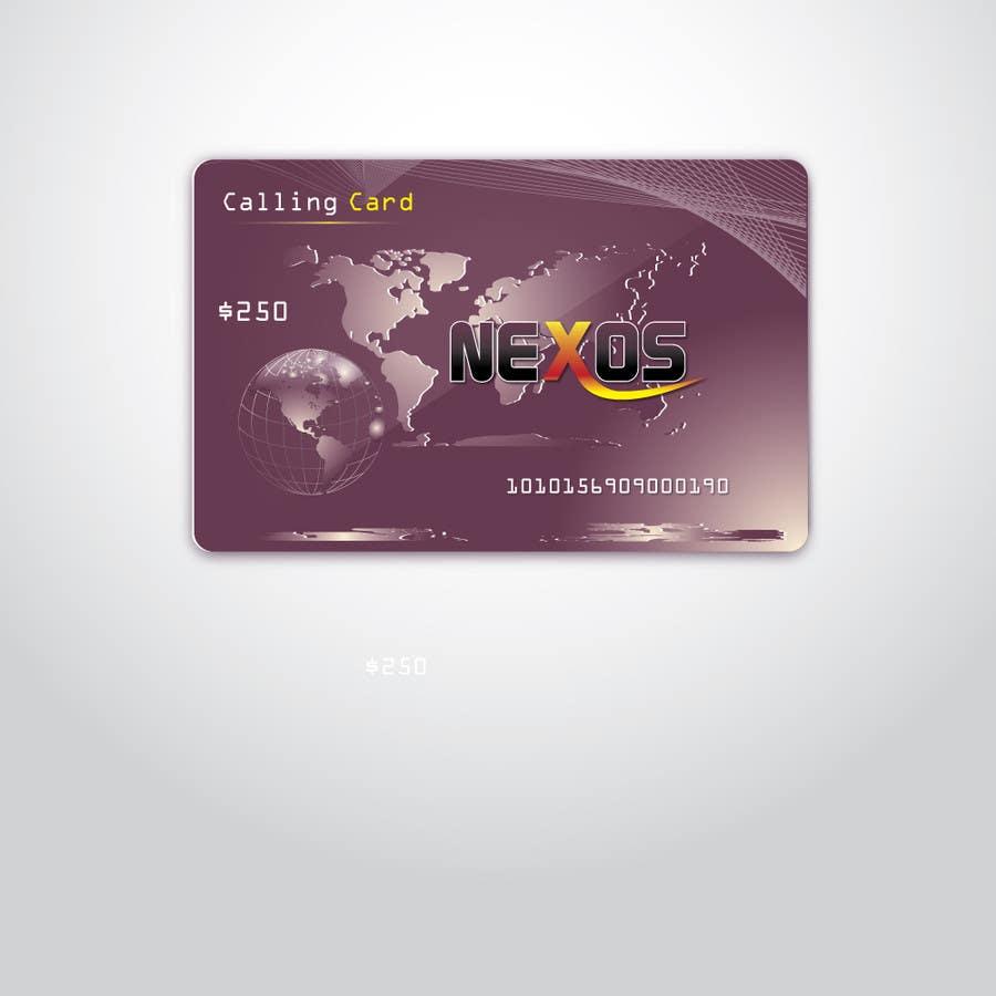Penyertaan Peraduan #                                        43                                      untuk                                         Design a Logo for a Calling card