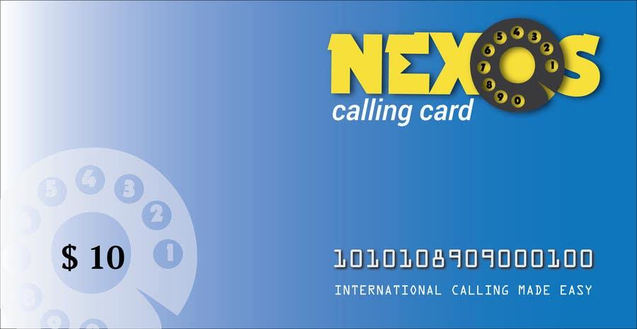Penyertaan Peraduan #                                        26                                      untuk                                         Design a Logo for a Calling card