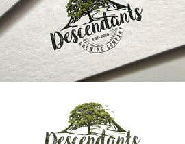 #122 dla Descendants Brewing Company Logo przez fourtunedesign