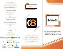 Nro 29 kilpailuun Brochure For Collabor8 käyttäjältä xaviatech