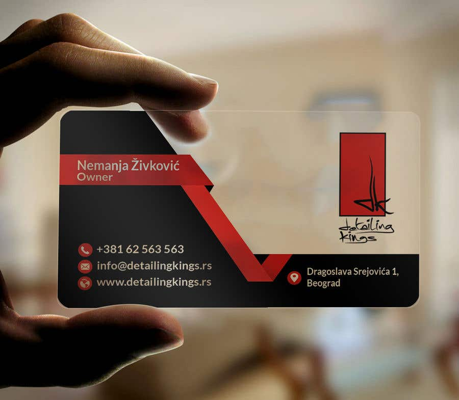 Contest Entry #567 for Design a Business Card for car detailing business