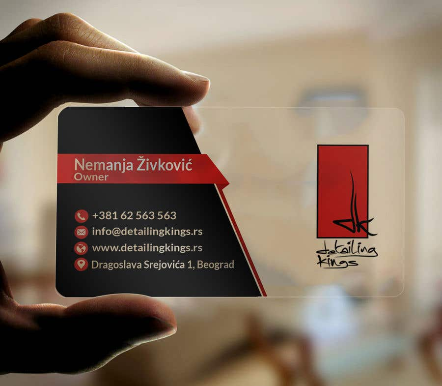 Contest Entry #569 for Design a Business Card for car detailing business