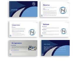 #5 for Design a Powerpoint template for company profile by eaumart