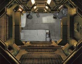 #24 for Design a top-down futuristic prison cell by frcolantonio