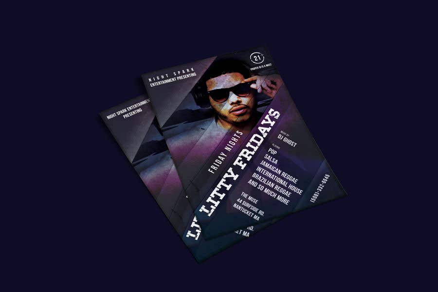 Entri Kontes #70 untukDesign a Night Club Flyer