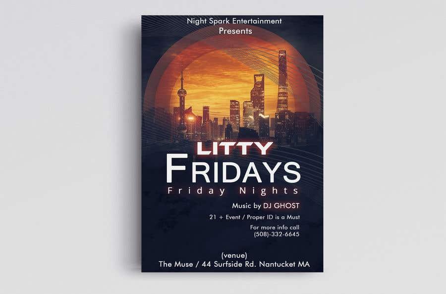 Entri Kontes #26 untukDesign a Night Club Flyer