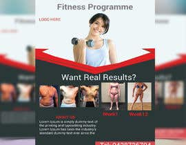 #9 for Promotional flyer for a fitness programme by rakib2375