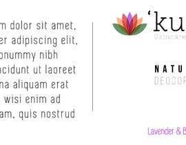 #1 pentru Natural Deodorant label design de către postairech