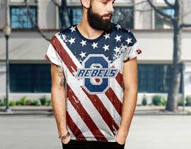 #37 cho Stars & Stripe Tee Shirt Design matching picture bởi audiebontia