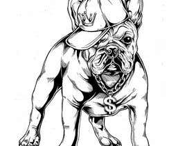 #50 for Illustrate a french Bulldog - Hand Drawn by Rotzilla