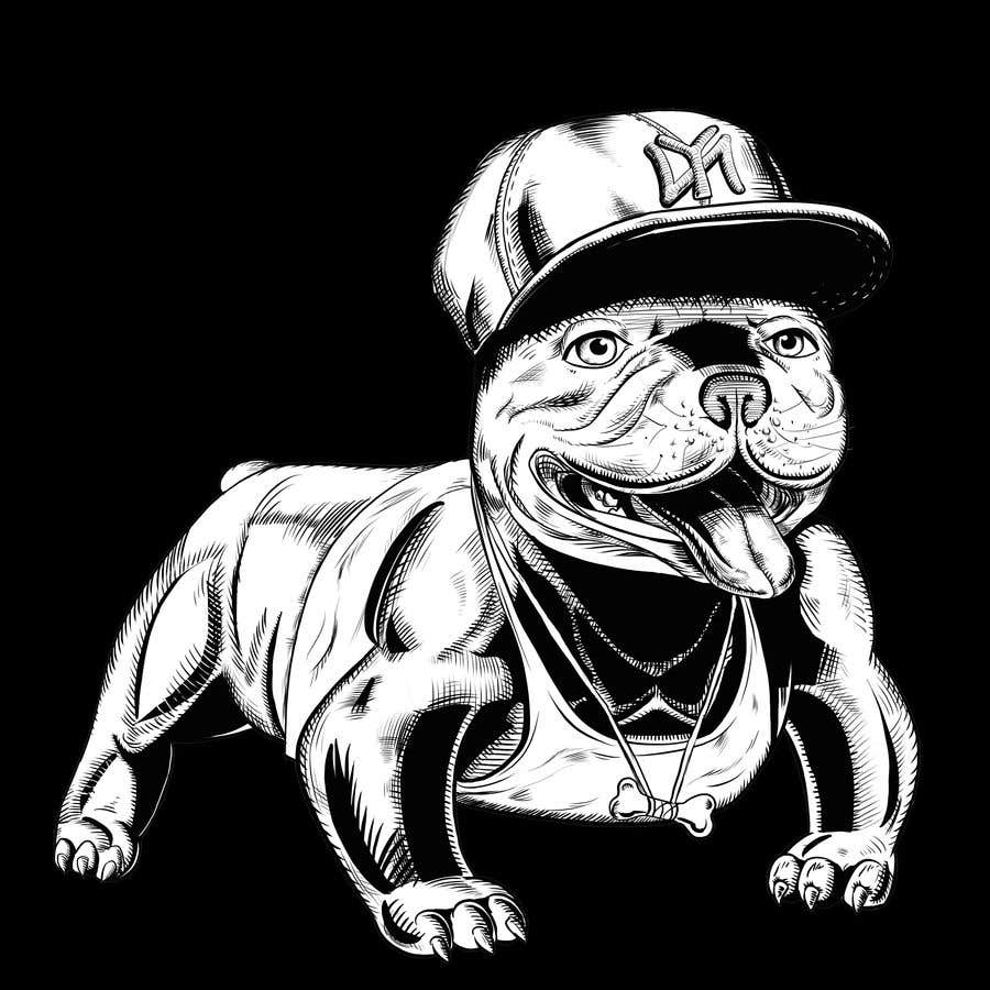 Proposition n°44 du concours Illustrate a french Bulldog - Hand Drawn