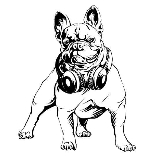 Proposition n°32 du concours Illustrate a french Bulldog - Hand Drawn