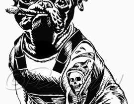 #30 for Illustrate a french Bulldog - Hand Drawn af ReneGMW