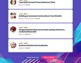 #7 για LOL 4 Ben Website Template από bdwebdesign24