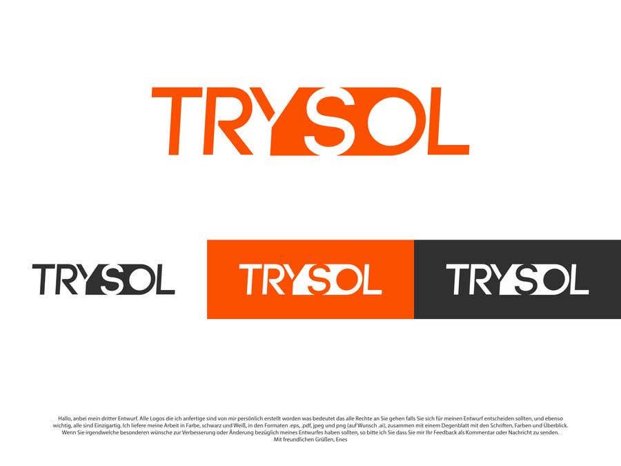 Wettbewerbs Eintrag #130 für Erstelen eines Logos der trysol ag