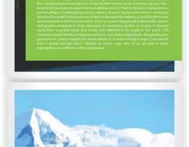"#39 for Design a Full Page PDF Brochure ""white paper"" (Adobe InDesign) by meenapatwal"