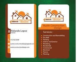 Číslo 66 pro uživatele Design some Business Cards For Construction Design Company od uživatele tahamidbd