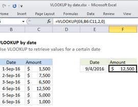 nº 3 pour Formula to look up data from a table, based on a given date. par jai9100