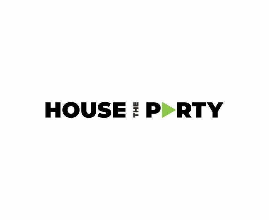 Kilpailutyö #383 kilpailussa Design New Logo For House The Party (Design Idea Attached)