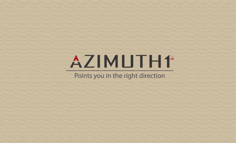 Конкурсная заявка №187 для Logo Design for Azimuth1