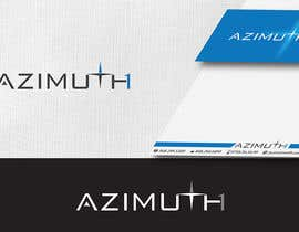 #209 para Logo Design for Azimuth1 por IIDoberManII