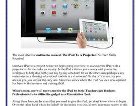 "#6 para Write an article titled ""How To Connect Your iPhone Or iPad To A Projector"" por wahidsoliman"