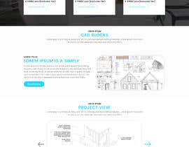 #3 для Design a Website Mockup - CAD-corner.com от pixelmarketo